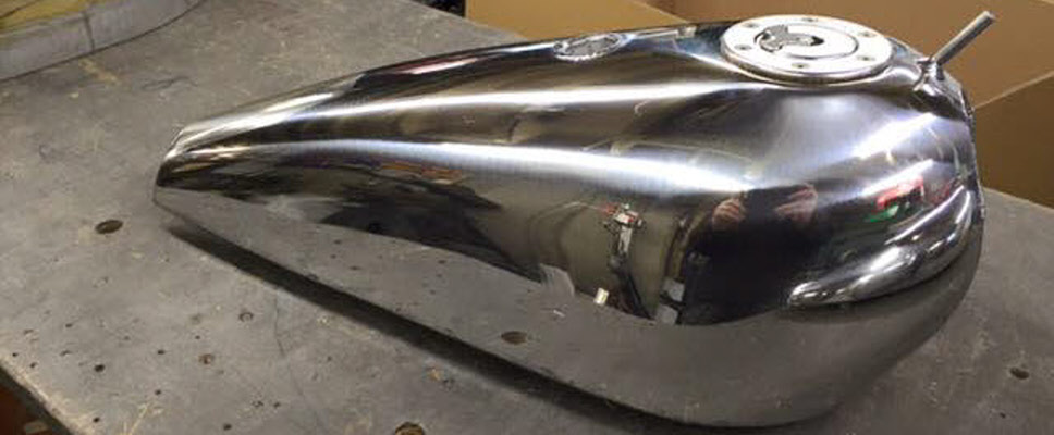 HoltWorks Motorcycle Alloy Fuel Tanks
